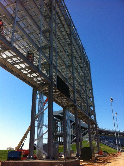 Charlotte Motor Speedway Builds Largest HD Video Board