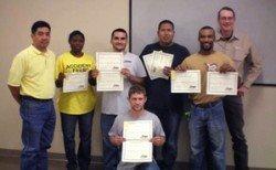 E-1 Class Graduates Aug. 14th