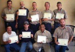 Houston Branch Reaches OSHA 30 Hour Goal