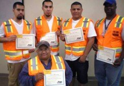 Congratulations to Jobsite Safety Monitor Trainees