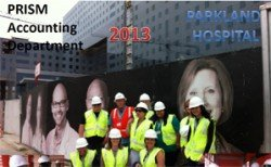 Prism Accounting Tours Parkland Hospital Project