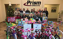2016 Toys for Tots Campaign at Prism