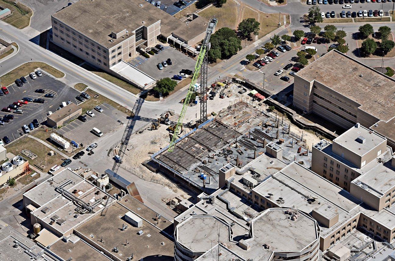 Baylor Scott & White Surgical Sciences Building Taking Shape