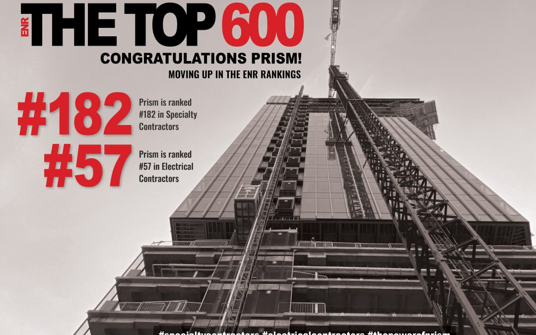Moving up in the ENR rankings!